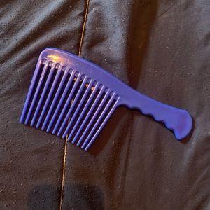 (3/$20) horse sized royal blue mane comb brush